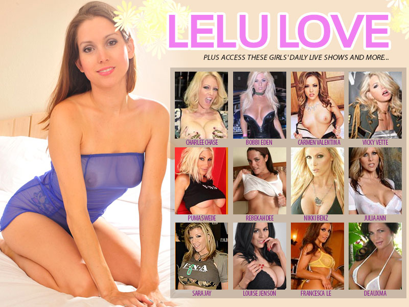Meet Lelu Love - The Internet's Most Interactive Sex Star!!!